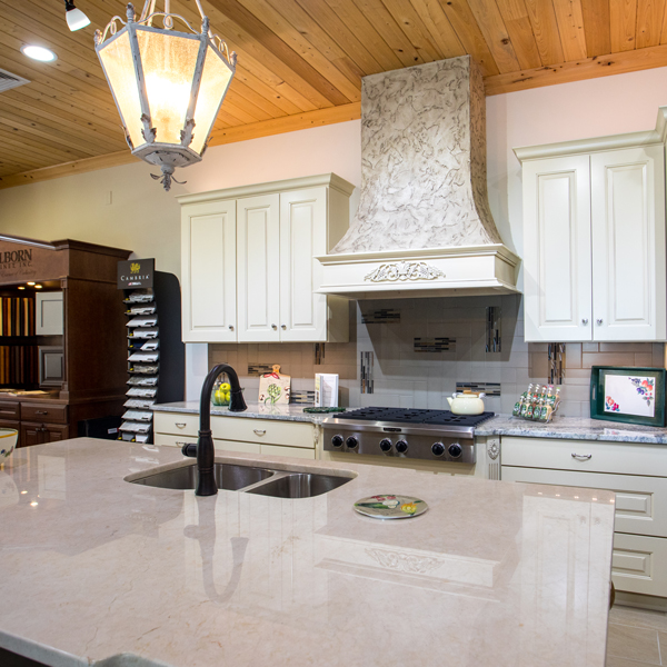 St. Simons Island Showroom - kitchen